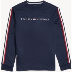 Tommy Hilfiger Men's Adaptive Long-Sleeve Logo T-Shirt Navy Blazer - S found on Bargain Bro India from Tommy Hilfiger for $44.50