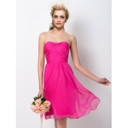 A-Line Sweetheart Short Bridesmaid Dress found on MODAPINS from Tbdress for USD $154.31