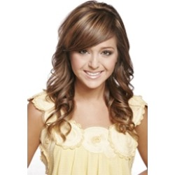 Trend Long Wavy 18 Inches Natural Cheap Synthetic Wig