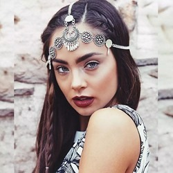 Wedding/Party Occasion Womens Vintage Style Alloy Material E-Plating Technic Head Chain
