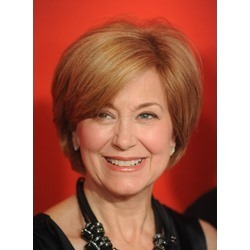 Graceful Custom Jane Pauley Hairstyle Short Straight 100% Human Hair Lace Wig
