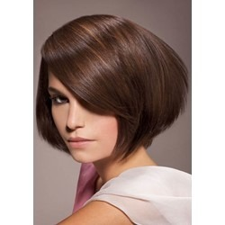 New Bob Hairstyle Top Quality Natural Soft Short Straight Wig 8 Inches