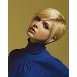 New Arrival Carefree Short Straight Light Blonde Human Hair Wig
