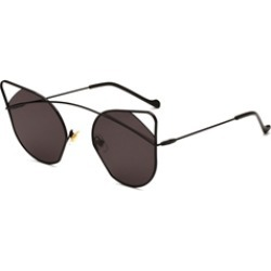 Hollow Out Cats Eye Sunglasses