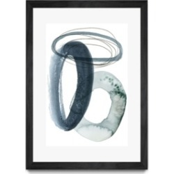"""Giant Art Looping Abstract I Matted and Framed Art Print, 36"""" x 52"""""""