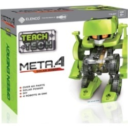 Teach Tech Meta.4 Transformational Robot Kit Stem Educational Toys