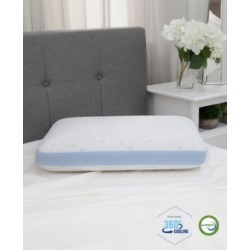 SensorGel Cold Touch Gusseted Gel-Infused Memory Foam Pillow - Oversized