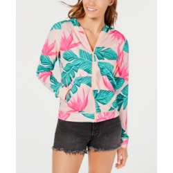 Hurley Juniors' Printed Hooded Rash Guard found on MODAPINS from Macy's for USD $55.00