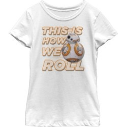 Fifth Sun Star Wars Big Girl's Bb-8 How We Roll Short Sleeve T-Shirt found on Bargain Bro India from Macys CA for $23.08