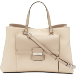 Calvin Klein Delancy Leather Satchel found on MODAPINS from Macy's for USD $136.80