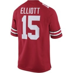 Nike Men's Ezekiel Elliott Ohio State Buckeyes Player Game Jersey found on Bargain Bro India from Macy's for $100.00