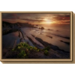 Amanti Art Sunset in Liencres by Ivan Ferrero Canvas Framed Art found on Bargain Bro India from Macy's for $85.99