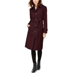 London Fog Hooded Maxi Trench Coat found on MODAPINS from Macy's for USD $139.99