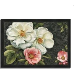 Tangletown Fine Art Floral Damask I by Lisa Audit Framed Painting Print, 33