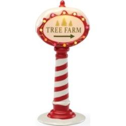 Lenox Light-Up Tree Farm Sign