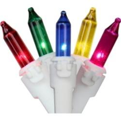 Northlight Set of 50 Multi-Color Mini Christmas Lights 2.5
