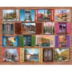 Springbok Puzzles Windows To The World 1000 Piece Jigsaw Puzzle