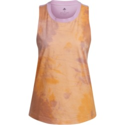 adidas Women's Cotton Tie-Dyed Racerback Tank Top found on Bargain Bro from Macy's for USD $19.00