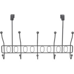 Hds Trading Unity Over the Door 5 Hook Hanging Rack