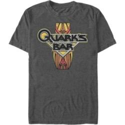 Star Trek Men's Deep Space Nine Quarks Bar Logo Short Sleeve T-Shirt found on Bargain Bro India from Macy's for $24.99