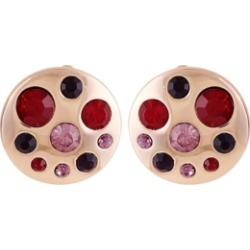 T Tahari Women's Fashionable Florals Button Clip on Earring