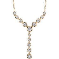 Sirena Diamond Lariat Necklace (1 ct. t.w) in 14k Gold or White Gold found on Bargain Bro India from Macy's Australia for $4285.63