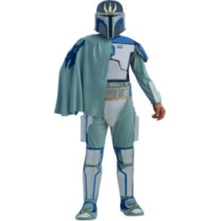 BuySeason Men's Star Wars Deluxe Pre Vizsla Costume