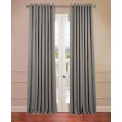 Exclusive Fabrics & Furnishings Grommet Extra Wide Blackout 100