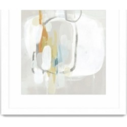 """Giant Art Stereo Fade Ii Matted and Framed Art Print, 36"""" x 36"""""""