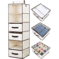 StorageWorks Hanging Fabric Organizer found on Bargain Bro India from Macy's for $57.99