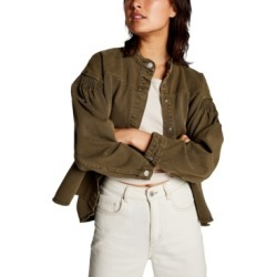 Cotton On Pintuck Utility Bomber Jacket found on MODAPINS from Macy's for USD $49.99