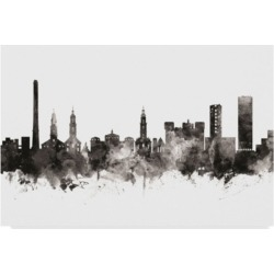 Michael Tompsett Erlangen Germany Skyline Black White Canvas Art - 15
