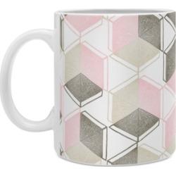 Deny Designs Dash and Ash Golden Moments Coffee Mug
