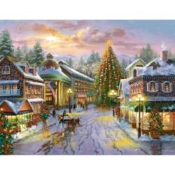 Springbok Puzzles Christmas Eve 500 Piece Jigsaw Puzzle