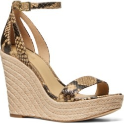 Michael Michael Kors Kimberly Wedge Sandals Women's Shoes found on Bargain Bro Philippines from Macy's Australia for $138.38