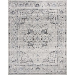 Safavieh Charleston Gray and Dark Gray 9' x 12' Area Rug found on Bargain Bro Philippines from Macy's for $345.60