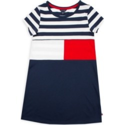Tommy Hilfiger Big Girls Stripe Flag Tee Dress found on Bargain Bro Philippines from Macy's for $31.87