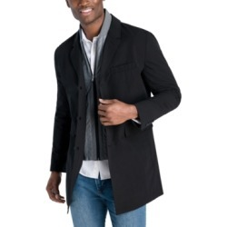 Michael Kors Men's Casa Slim-Fit Single Breasted Bib Raincoat found on MODAPINS from Macy's Australia for USD $375.87
