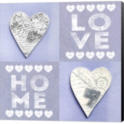 Home Love by Andrea Haase Canvas Art