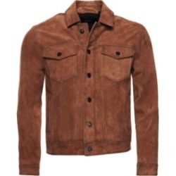 Superdry Men's Suede Highwayman Trucker Jacket found on Bargain Bro Philippines from Macy's for $279.95