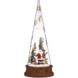 Lenox Merry & Magic Lit Glass Santa Scene found on Bargain Bro India from Macy's for $41.99