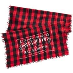 Polo Ralph Lauren Men's Polo Country Buffalo Plaid Scarf