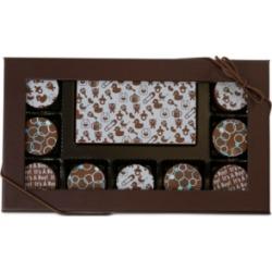Chocolate Works 10-Pc. Baby Boy Gourmet Chocolate Truffles