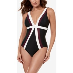 Miraclesuit Spectra Trilogy One-Piece Swimsuit Women's Swimsuit found on MODAPINS from Macys CA for USD $143.60