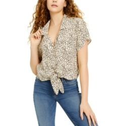 Calvin Klein Jeans Leopard-Print Shirt found on MODAPINS from Macy's for USD $23.73