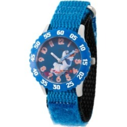 Disney Frozen 2 Olaf Boy's Stainless Steel Time Teacher, Blue Bezel Watch 32mm found on Bargain Bro India from Macy's for $49.99