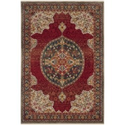 Safavieh Kashan Red and Blue 5'1