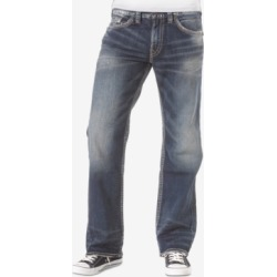 Silver Jeans Co. Men's Zac Relaxed Fit Straight Stretch Jeans found on MODAPINS from Macy's Australia for USD $105.38