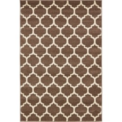 Bridgeport Home Arbor Arb1 Light Brown 4' x 6' Area Rug found on Bargain Bro India from Macy's for $71.50
