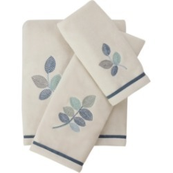 Croscill Mosaic Leaves Spa Bath Towel Bedding found on Bargain Bro Philippines from Macy's for $40.00